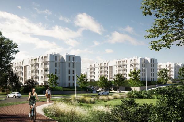 Sześć budynków stworzy kompletne osiedle w eksponowanym miejscu tej części Łostowic.
