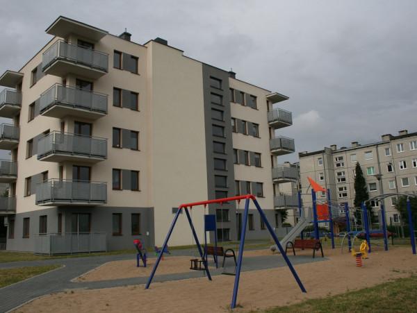 Budynek przy ulicy Emilii Hoene