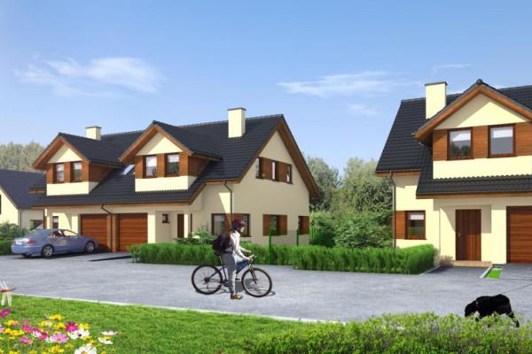 Przyjazna architektura i zielone otoczenie pomogą stworzyć kameralny charakter osiedla.