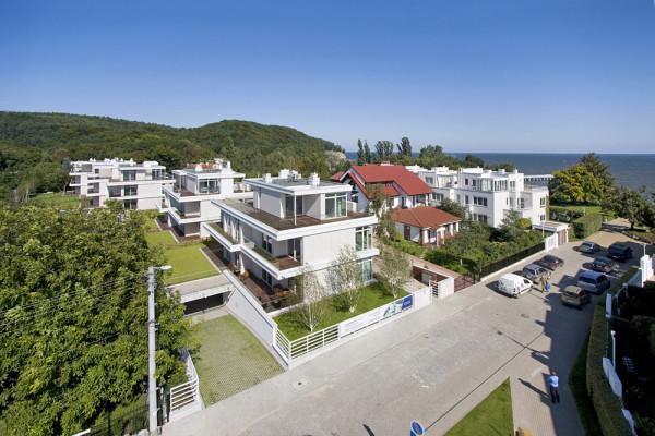 Apartamenty w Orłowie zlokalizowane są 200 metrów od plaży. mat. inwestora