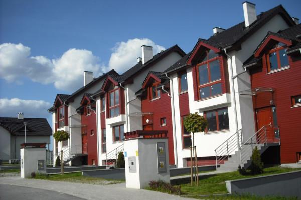 Ostatnie domy szeregowe oddane na osiedlu Jodłowy Park w 2011 roku.