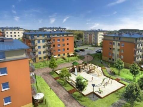 Zabudowa Pięciu Wzgórz wraz z budynkami sąsiednich osiedli stworzyła zwartą zabudowę nowej części Gdańska.
