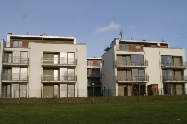 Pierwsze budynki na osiedlu są już zamieszkałe.