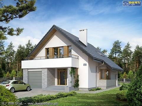 Jeden z sześciu proponowanych domów, które stanąć mogą w ramach Osiedla Bielkowo.