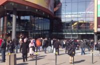 Ewakuacja centrum handlowego Madison