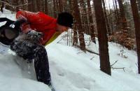 IX Gdyński Maraton na Orientację, w śniegu po kolana