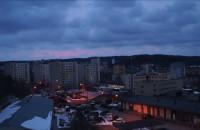 Świąteczny Zachód Słońca