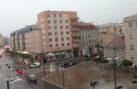 Burza na pl Kaszubskim w Gdyni 17.30