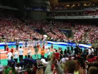 Hymny Argentyny i Polski w Ergo Arenie