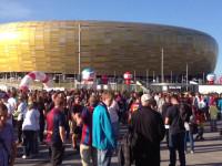 Tłumy kibiców czekają pod PGE Areną