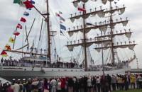 Cuauhtemoc odpłynął z Gdyni