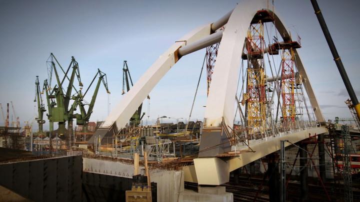 Jesień 2013 na budowie ul. Nowej Wałowej.