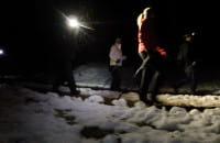 Nocny marsz szczytem Długiej Góry