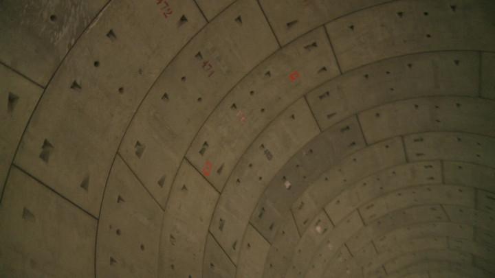 Zobacz wnętrze tunelu na filmie ze stycznia tego roku.