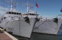 Francuskie okręty z wizytą w Gdyni