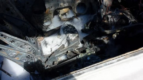 Nocny pożar aut w Sopocie