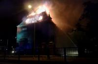 Pożar budynku przy ul. Słowackiego