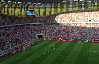 Karny w meczu Polska - Litwa