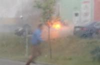 Pożar przy Fashion House