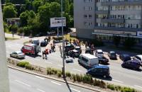 Wypadek motocyklisty w Gdyni