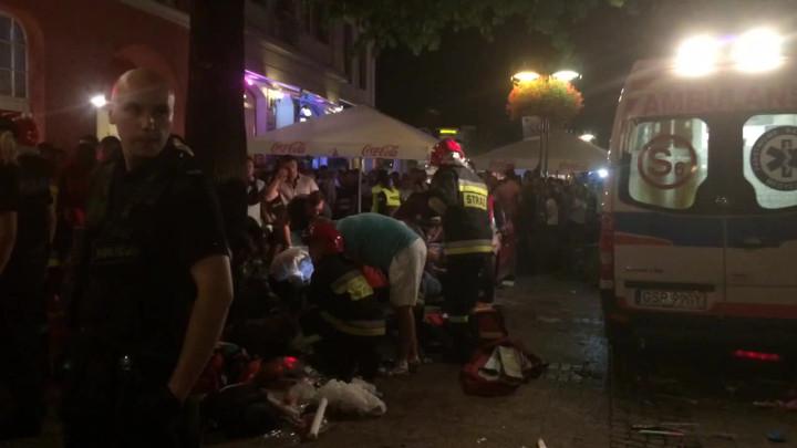 Podczas rajdu samochodem Michał L. potrącił 23 osoby.