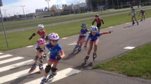 Maraton Sierpniowy na rolkach - wyścig juniorek na dystansie 160 m