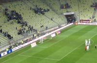 Smutne pożegnanie piłkarzy Lechii po meczu z Koroną