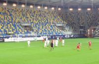 Gol Michała Walskiego na 1:0 w meczu U-18 Polska - Anglia