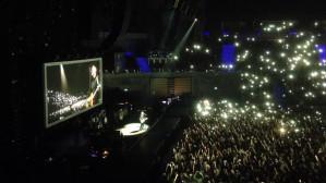"""All For Love"" Bryan Adams - rozświetlona Ergo Arena"