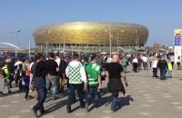 Tłumy przed meczem Lechia - Legia