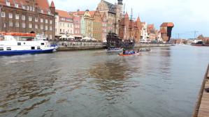 Wyścig smoczych łodzi na Motławie