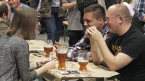 Tłumy miłośników piwa w Amber Expo