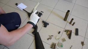 60-latka w domu miała arsenał broni