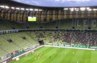 Niska frekwencja na meczu Lechia - Korona