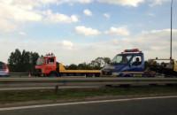 Karetka, radiowóz i laweta na A1