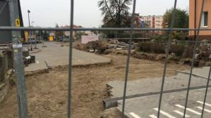 Utrudnienia i zniszczenia podczas budowy ciepłociągu na Przeróbce