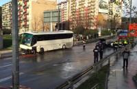 Wypadek autokaru z dziećmi na Obłużu
