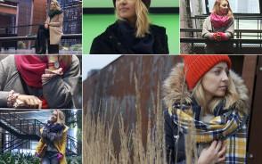 Kolorowe i ciepłe płaszcze na zimę