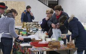 Bazarek ze zdrową żywnością w Hali Olivia