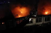 Pożar na Strzyży