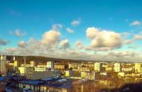 Płynące chmury w Dzień Bożego Narodzenia