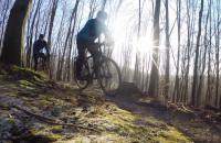 Na rowerze w temperaturze -15`C