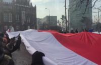 Początek manifestacji KOD w Gdańsku