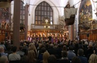 Krzysztof Penderecki a cappella w Dworze Artusa