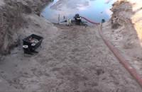 Nielegalni poławiacze bursztynu zatrzymani na Stogach