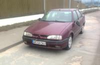 Auto porzucone w punkcie kontrolnym