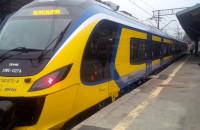 Nowy pociąg SKM na Dworcu Głównym w Gdańsku