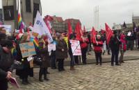 Żaneta Borejko z Ruchu Sprawiedliwości Społecznej podczas Manify