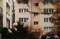 Pożar na Zabłockiego Morena