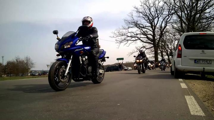 Inauguracja motocyklowego sezonu.
